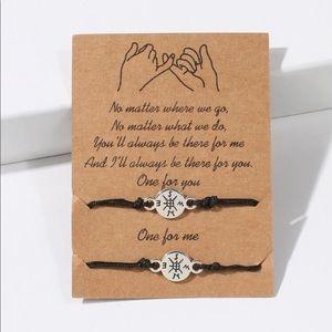 """🆕 """"No Matter Where We Go"""" Friendship Bracelets"""